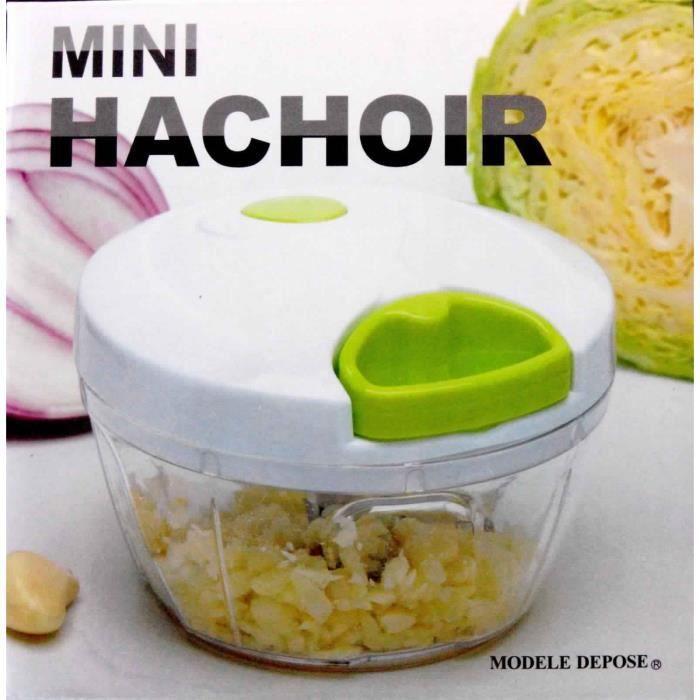 MINI HACHOIR manuel