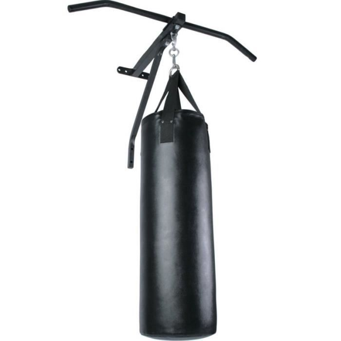 Barre de traction avec sac de frappe punching-ball boxe 19 kg 83 cm 0701003