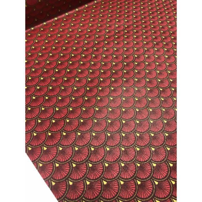 Baanuse Rayure Sac de Rangement Suspendu Panier Pochette de Rangement Sac Organisateur Mural en Tissu 8 Poches Rouge