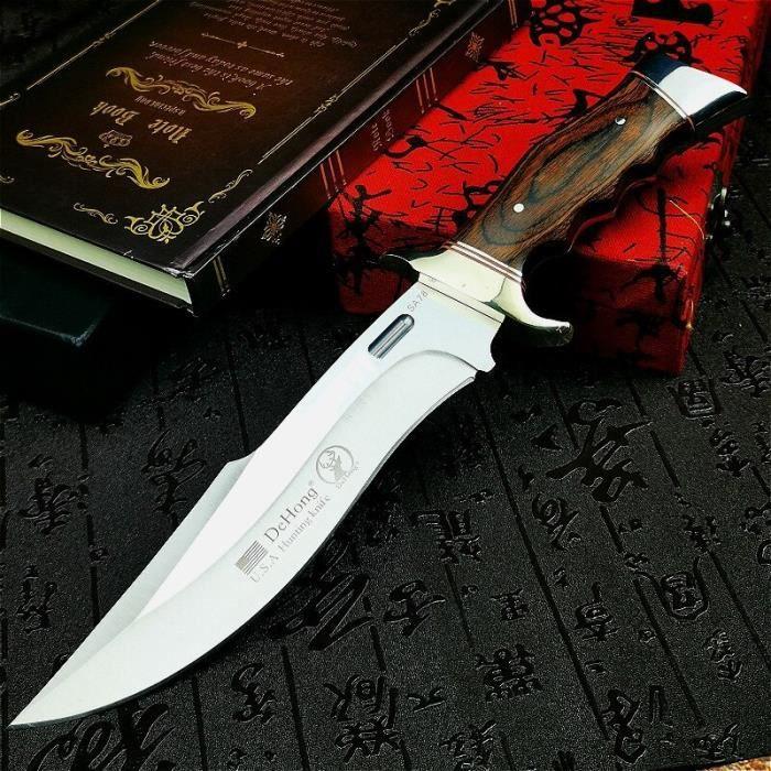Couteau de Chasse Collection à Lame Fixe Tactique