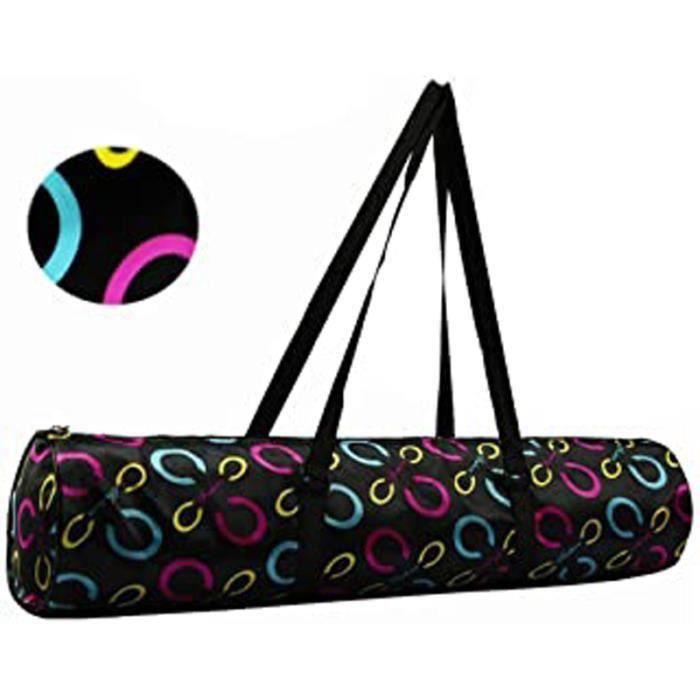 Sac De Tapis De Yoga Et Pilates Impermeable Sac De Transport Léger Bandoulière Gym Bag Pour Yoga Mat Avec Fermeture Éclaire- Petite