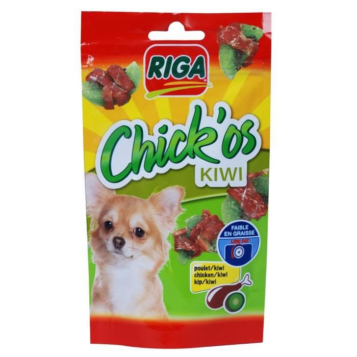 RIGA CHICK'OS kiwi pour chien
