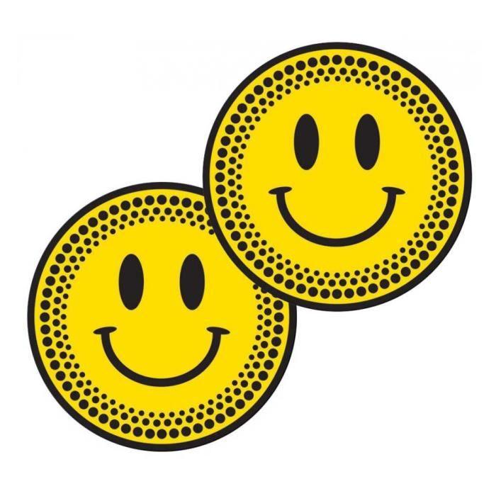 Feutrines Slipmats Technics Smiley Happy Face