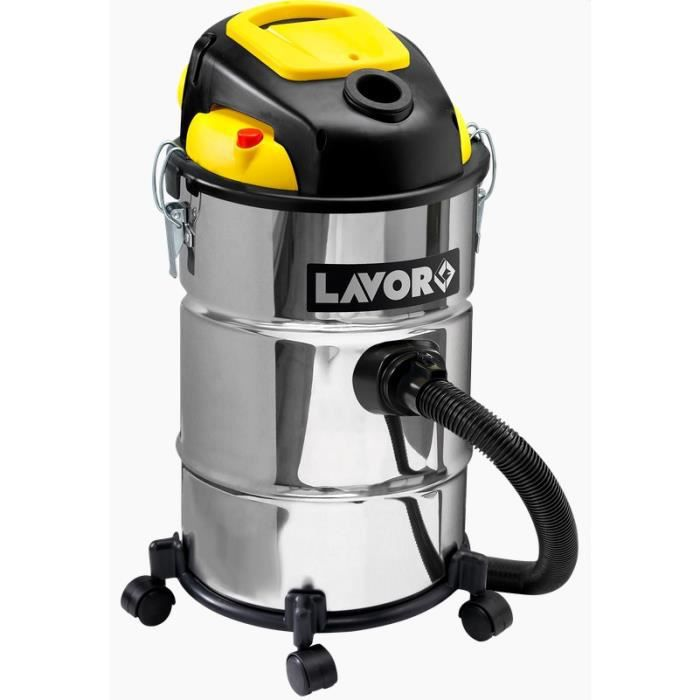 Lavor - Aspirateur eau et poussières 1400W 25L 35 l/s - POKER