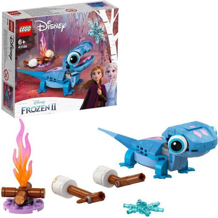 LEGO® Disney 43186 La Reine des neiges 2 Bruni la salamandre, Jouet de construction imaginatif pour les enfants