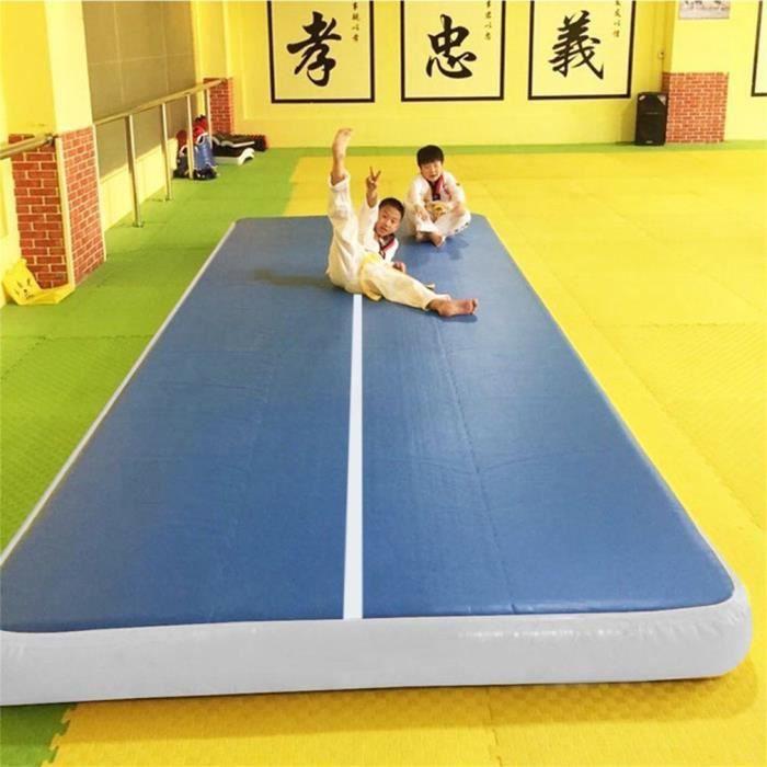 Coussin d'air de gymnastique de tapis gonflable de coussin pour la formation d'exercice Gym Martial