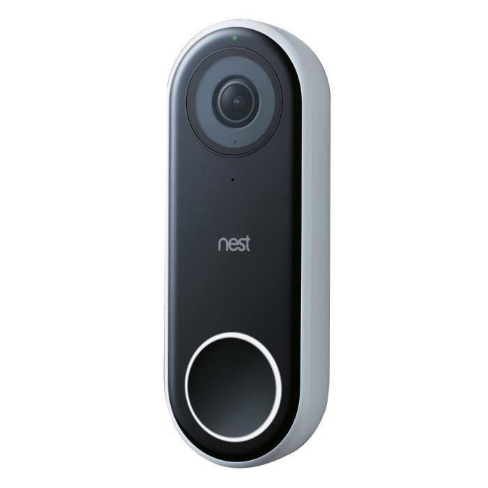 NEST Sonnette video surveillance connectée Hello