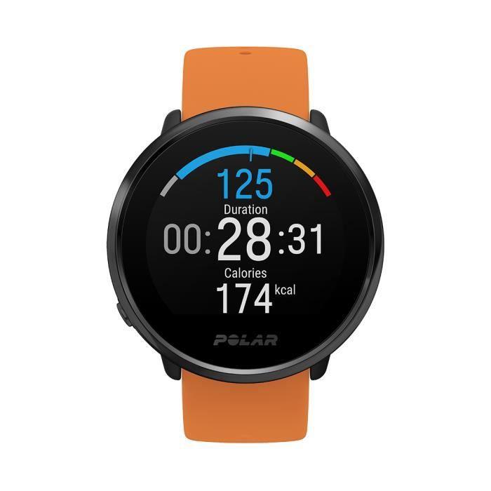 Polar Ignite Fitness Watch - Orange M-L