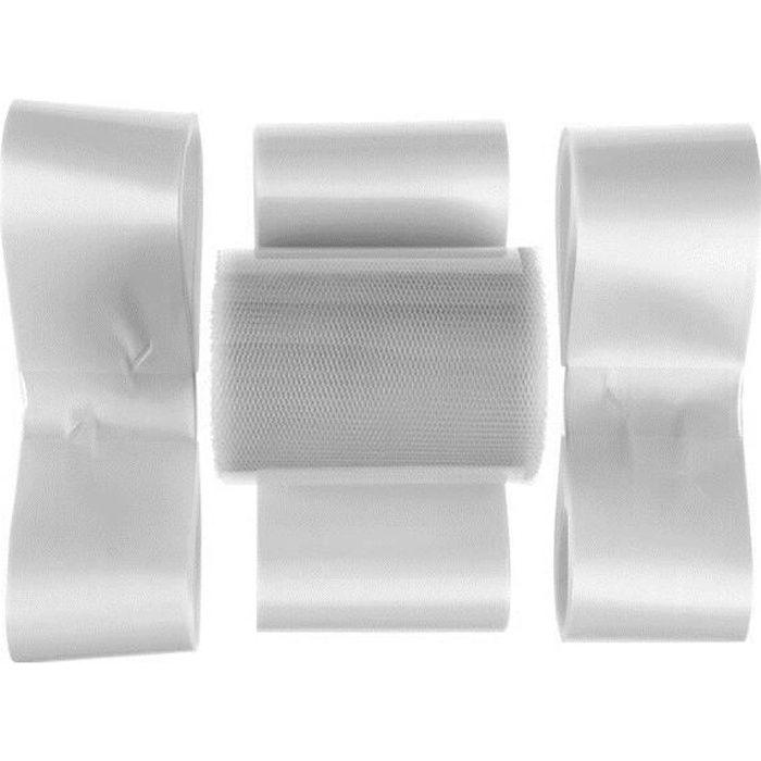 Kit décoration voiture mariage: Blanc (x1) REF/5140