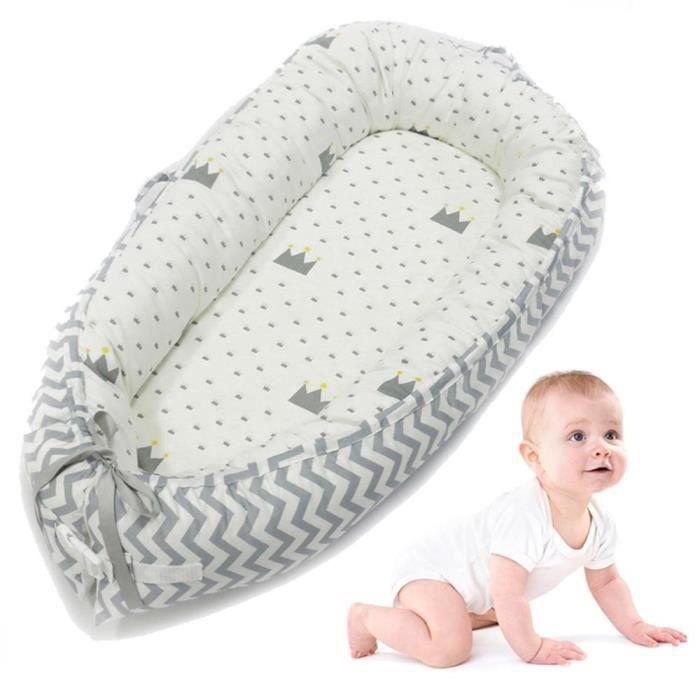 Bébé Chaise longue, Portable Super Doux et respirant pour nouveau-né bébé Berceau, résistant à l'eau Housse amovible p3#