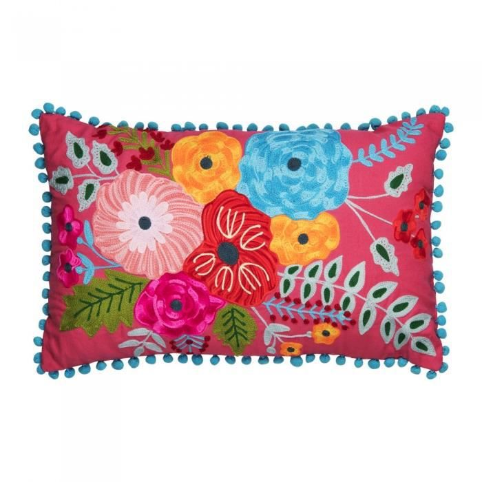Coussin aubepine 30x50 cm - Table Passion Multicolore