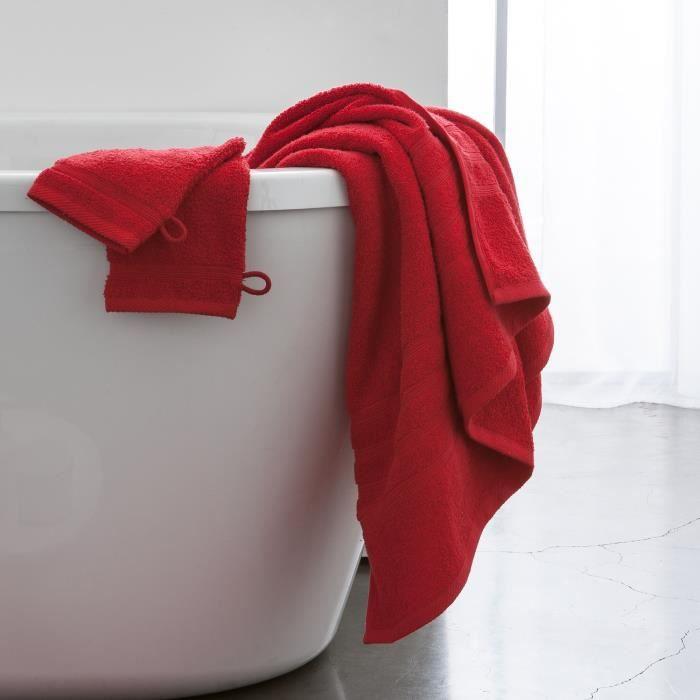 Maxi drap de bain 100% coton 500 gr/m2 90x150cm COCOON-Pomme d'amour
