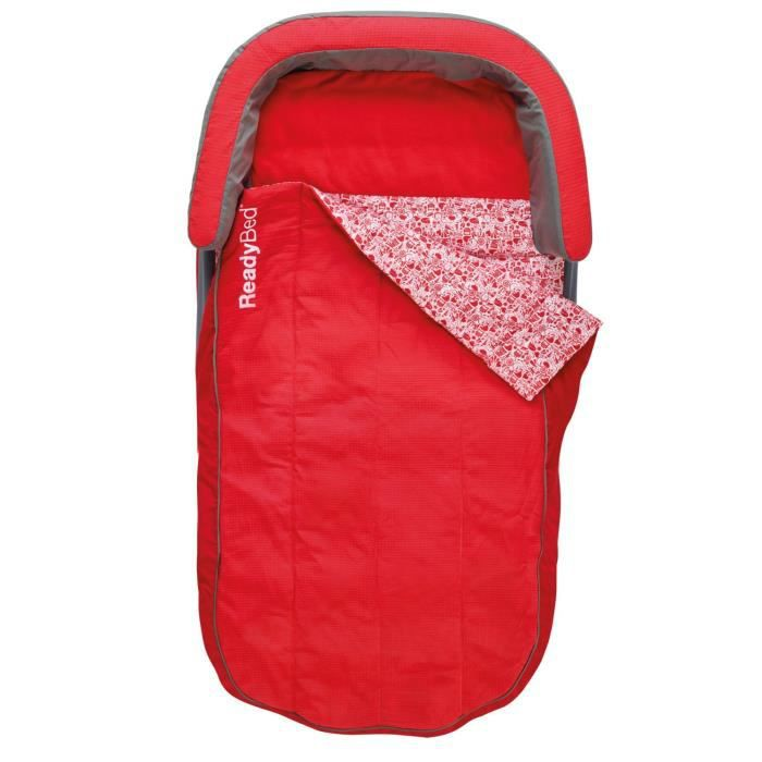 Lit gonflable 1 personne - Rouge - Achat / Vente lit gonflable ...