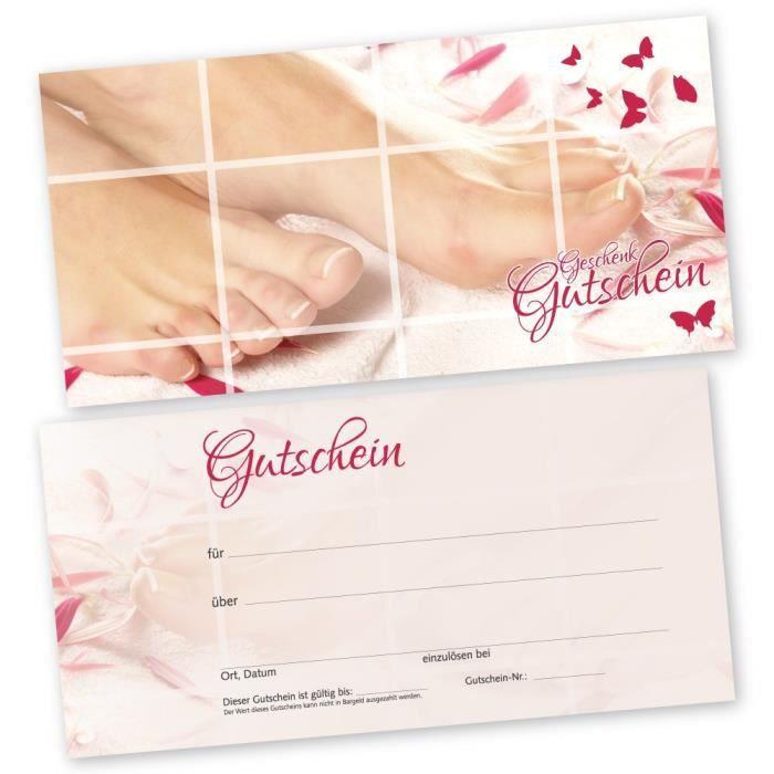bon d achat ou carte cadeau cdiscount Soin 50 pieds – Cartes cadeaux Pink Lady avec weißtransparenten
