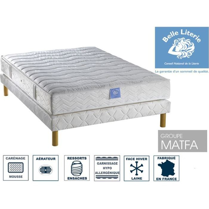 ensemble matelas passion belle literie par amel achat vente ensemble literie cdiscount. Black Bedroom Furniture Sets. Home Design Ideas