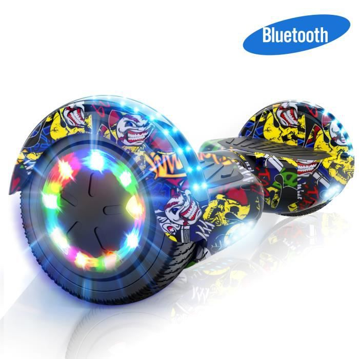 ACCESSOIRES GYROPODE - HOVERBOARD EverCross Hoverbord Scooter Auto-équilibre Gyropde