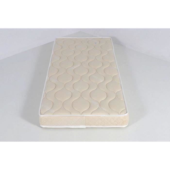 matelas b b pitchoun 70 x 140 tissu bio coton blanc achat vente matelas b b 3700837601186. Black Bedroom Furniture Sets. Home Design Ideas