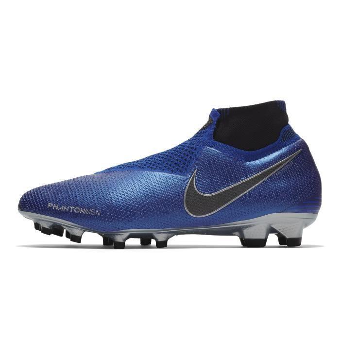 Chaussures football Nike Phantom Vision Elite DF FG Bleu ...