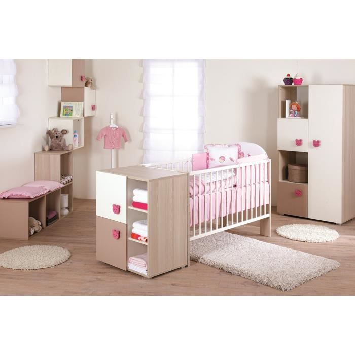 top chambre complte bb chambre bb mgui complte with chambre complete bebe fille. Black Bedroom Furniture Sets. Home Design Ideas