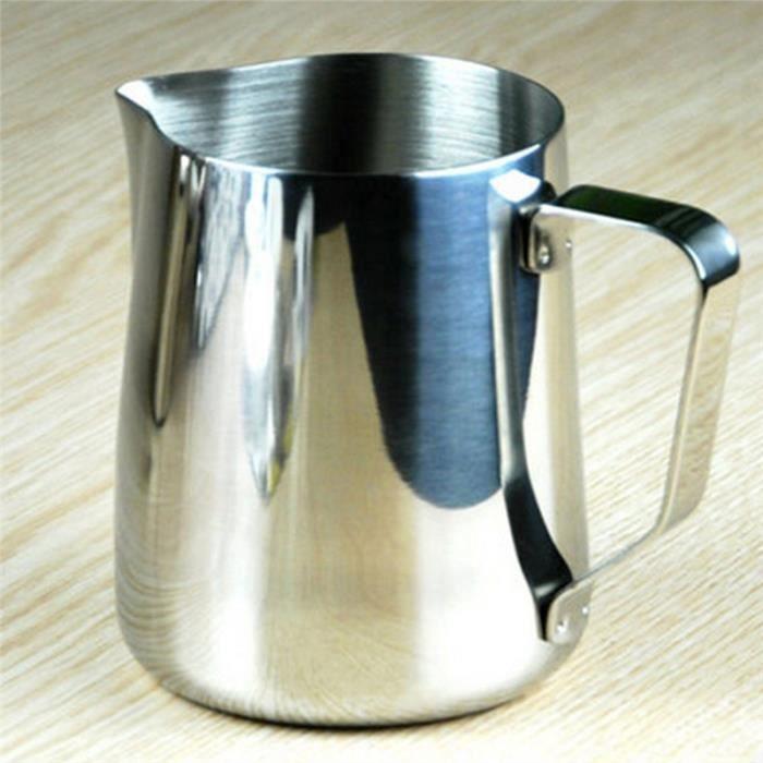 1L Pichet en acier inoxydable avec pichet /à eau en acier avec Ice Guard Pichet /à boire /à la maison Capacit/é : 1L outil de service pour h/ôtel