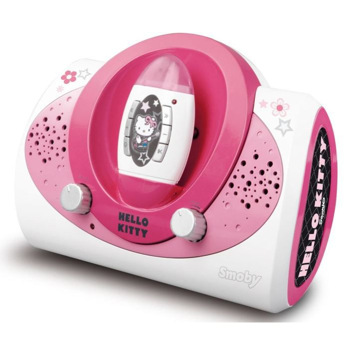 hello kitty station lecteur portable achat vente radio cd enfant cdiscount. Black Bedroom Furniture Sets. Home Design Ideas