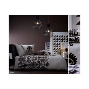 housse de couette blanche achat vente housse de. Black Bedroom Furniture Sets. Home Design Ideas