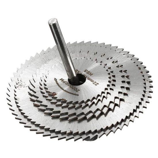 ToGames 7pcs ensemble des lames de scie circulaire ensemble accessoires pour disque de coupe du bois outils rotatifs pour outils /électriques outil rotatif