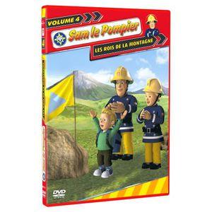DVD DESSIN ANIMÉ DVD Sam le pompier Vol 4 - Les rois de la montagne