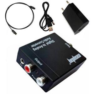 Câble coaxial Easyday 192KHz DAC Convertisseur SPDIF Optique Coa
