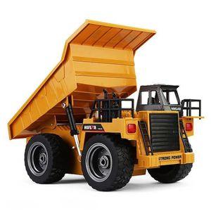 TRACTEUR - CHANTIER Camion à Benne Basculante Radiocommandé en Alliage