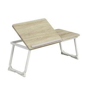SECRÉTAIRE Table de lit Support d'ordinateur portable pliable