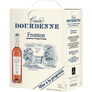 VIN ROSÉ BIB Vin Rosé Croix Dourdenne AOP Fronton Rosé - Cu