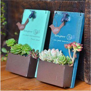 JARDINIÈRE - BAC A FLEUR 1pcs Support vert pot de fleurs d'extérieur pour S