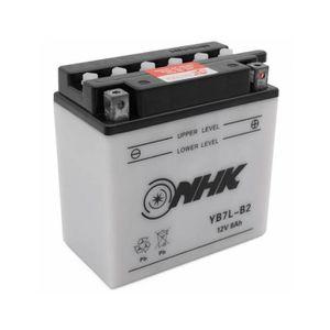 135 x Largeur 75 x Hauteur 133 Batterie FULBAT YB7L-B2 12V 8Ah 124A Longueur mm