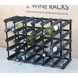 MEUBLE RANGE BOUTEILLE 30 Bouteille de vin Racks ( 6 x 4 ) Dimensions app