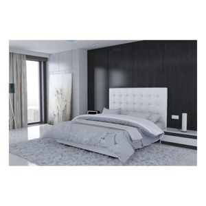 tete de lit 180 achat vente tete de lit 180 pas cher cdiscount. Black Bedroom Furniture Sets. Home Design Ideas
