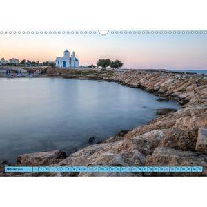 ENSEMBLE LITERIE CD-41847 Chypre du Sud, ensoleillé avec paysage A3