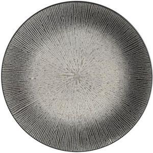 SERVICE COMPLET Assiette plate Atelier - Céramique - Gris