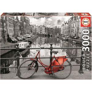 PUZZLE EDUCA Puzzle 3000 Pièces - Amsterdam