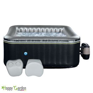 Spa gonflable carr achat vente spa gonflable carr pas cher les soldes - Spa gonflable carre 6 places ...