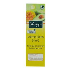 SOIN MAINS ET PIEDS Kneipp Crème Pieds 5 en 1- 75ml