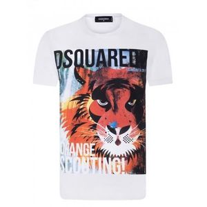 T-SHIRT Dsquared2 Homme T-Shirt Blanc