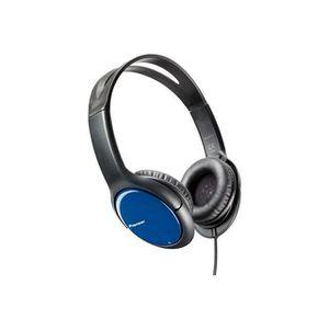 CASQUE - ÉCOUTEURS Pioneer SE-MJ711-L Casque audio Bleu-Noir