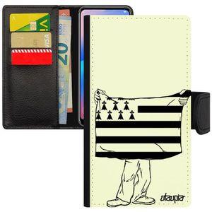 HOUSSE - ÉTUI Coque drapeau bretagne breton Apple iPhone 11 pro