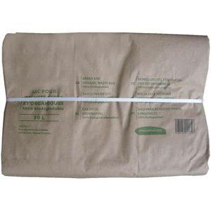 SAC À DÉCHETS VERTS  10 sacs déchet en papier - 100 L - Vert