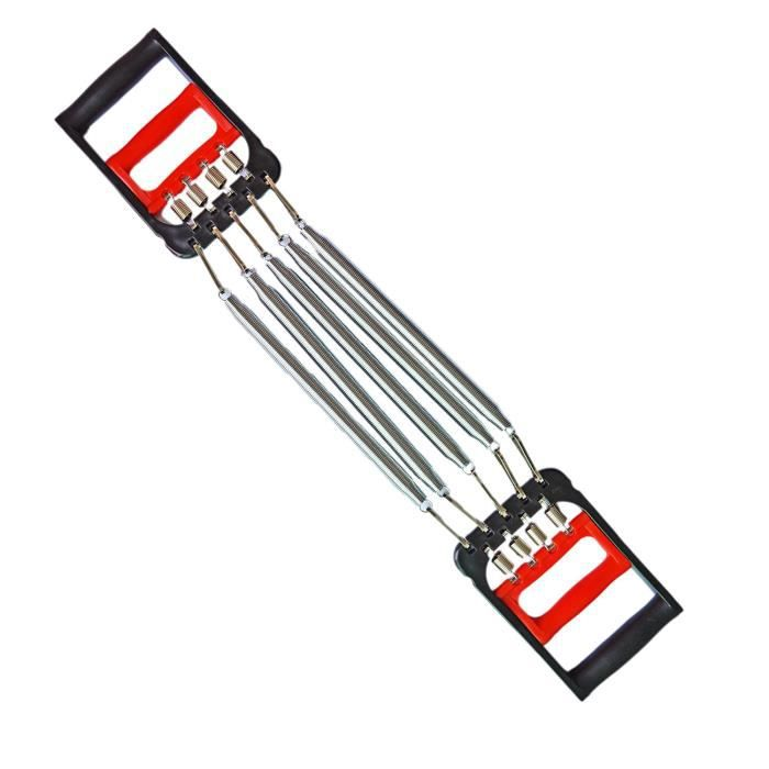 Poitrine extenseurs traditionnelle main pince 5 ressorts muscle pull exerciseur