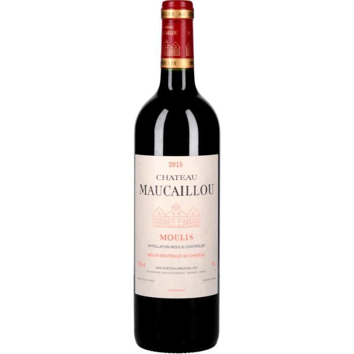 Vin Rouge - Château Maucaillou 2015 - Bouteille 75cl