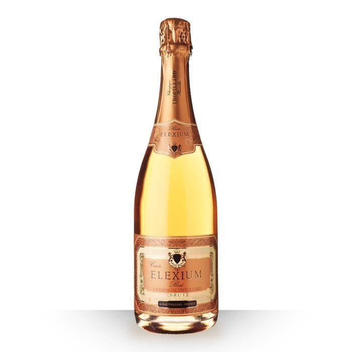 Trouillard Elexium Brut Rosé 75cl - Champagne