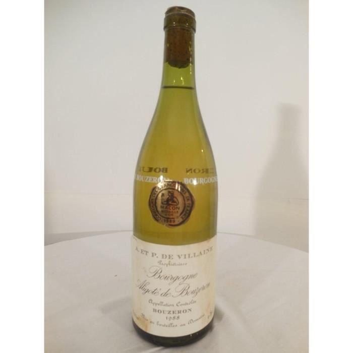 bouzeron aligoté aubert de villaine blanc 1988 - bourgogne france