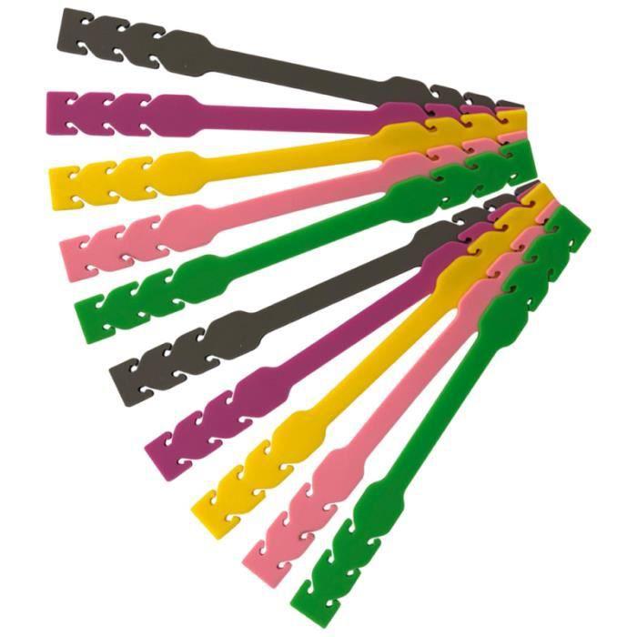 10 pièces masque corde boucle Durable pratique Silicone utile fournitures pour hommes adultes PACK APPAREILS REPASSAGE-COUTURE
